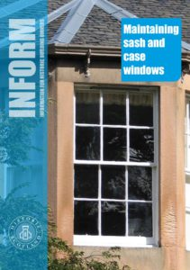 thumbnail of inform guides – Maintaining sash and case windows