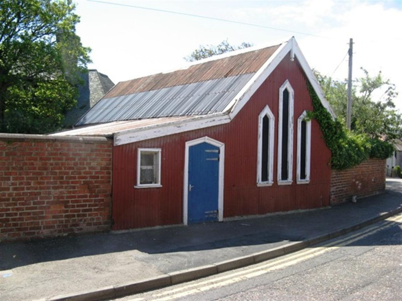 Going going gone – Has Time has Run Out for Rare Dunbar Tin Tabernacle?